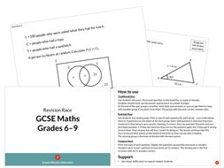GCSE Maths Revision Race (Grades 6-9)
