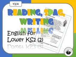 Reading, SPaG and Writing for Lower KS2