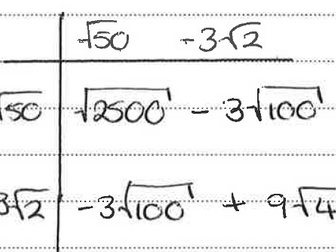 Spot the Mistake Maths Revision 7 - 9