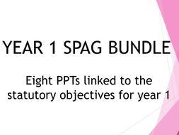Year 1 SPAG PPT Bundle