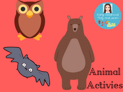 Animal Activies Bundle