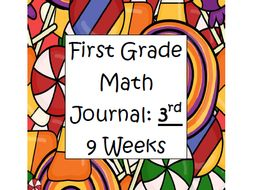 First Grade Math Journal: 3rd 9 Weeks
