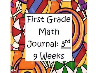 First Grade Math Journal: 3rd 9 Weeks