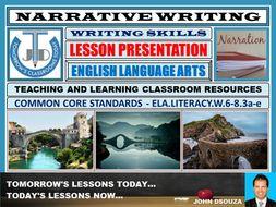 NARRATIVE WRITING : LESSON PRESENTATION