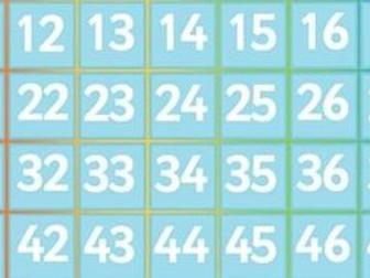 100 Square Challenge