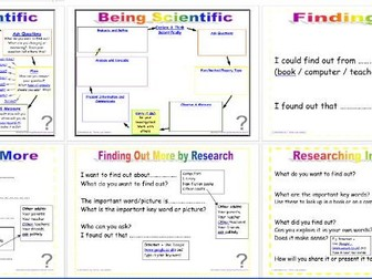 Being Scientific: Working Scientifically in enquiry and Investigation - Using Secondary Sources