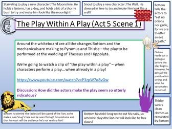 A Midsummer Night's Dream - Act 5 Scene 1