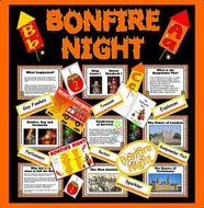 BONFIRE NIGHT,  GUY FAWKES resources Gunpowder plot fireworks KS1 KS2 HISTORY CELEBRATIONS