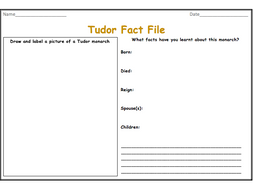 Tudor Fact File