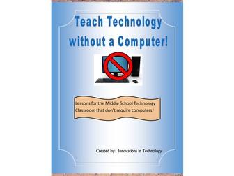 Teach Technology WITHOUT a Computer