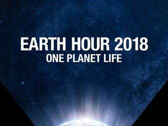 Earth Hour 2018 Lesson Plan