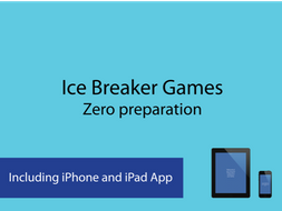 Ice Breakers and Ice Breaker Back to school set for KS3 Classes