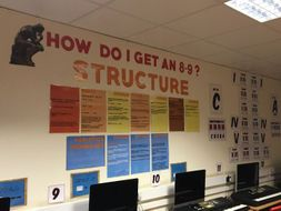 GCSE Structure Display