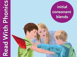 Blend Sounds Together To Make Words With Initial Consonant Blends (3+)