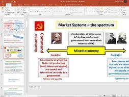 18. Economic Thinkers (Slides, Activities and Notes) - Edexcel A-Level Economics - Theme 1