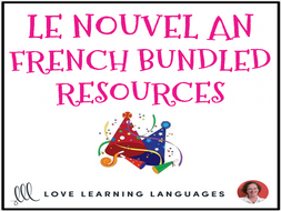 French New Year - Le Nouvel An - BUNDLED RESOURCES