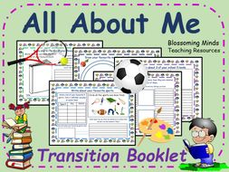 All About Me Transition Booklet - Lower Key Stage Two