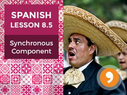 Spanish Lesson 8.5: Synchronous Component - Teacher Notes