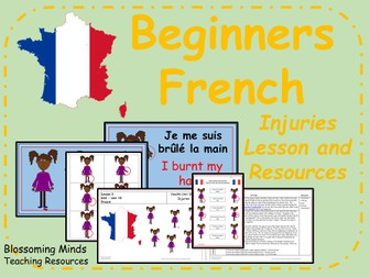 french lesson bundle the body ks2 by blossomingminds teaching resources. Black Bedroom Furniture Sets. Home Design Ideas