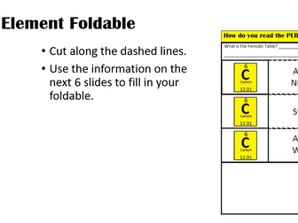 How to read the periodic table presentation and foldable by how do you read a periodic table and understand the elements urtaz Choice Image
