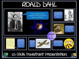 Roald Dahl Presentation