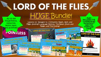 Lord of the Flies Huge Bundle!