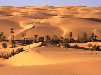 L3 – Hot Deserts Causes of Aridity - AQA A-Level (2017 exams)