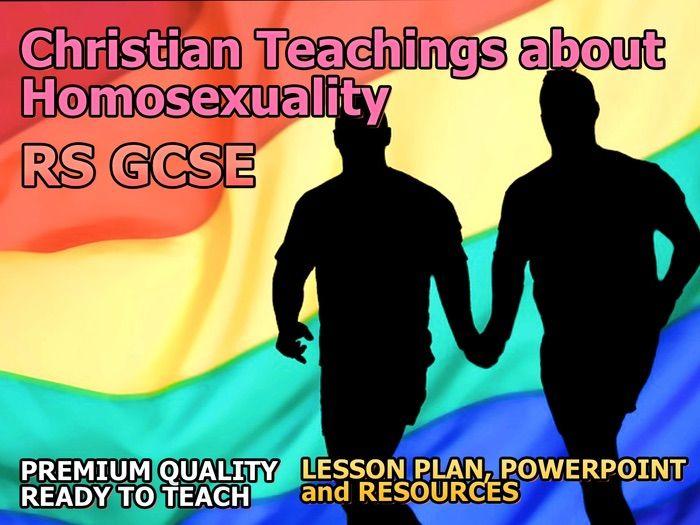 Christian teachings against homosexuality