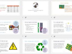 AQA GCSE Chemistry - Chemical Cells & Batteries