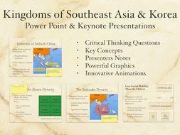 Kingdoms of Southeast Asia and Korea PowerPoint & Keynote Presentations