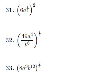 Indices worksheet no 4 (with solutions)