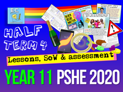 Year 11 PSHE SoW 4