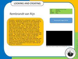 Rembrandt van Rijn.  Looking and Creating: activities inspired by artists