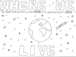 GEOGRAPHY: Where We Live: Planet Earth