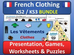 French Clothing (Les Vetements) BUNDLE