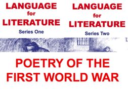 Language for Literature and First World War Poetry Bundle KS3 and KS4
