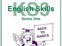 KS3 English Skills Resource Pack Bundle Series 1-4