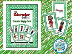 Nutcracker Character Card Game