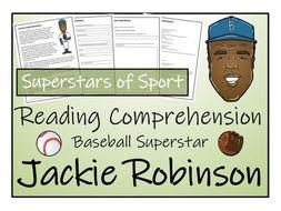 UKS2 Literacy - Jackie Robinson Reading Comprehension