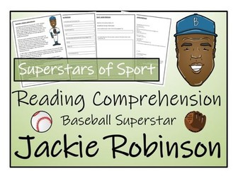 UKS2 Literacy - Jackie Robinson Reading Comprehension