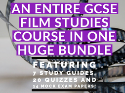 GCSE Film Studies: Resources for Component 1, 2, revision and mock exams