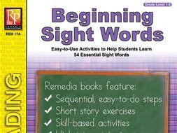 Beginning Sight Words