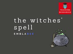 The Witches' Spell - Music, Science/Maths, Art