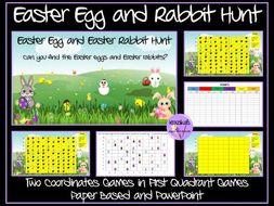 Easter Egg Hunt Coordinates Games