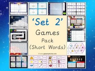 The Set 2 Phonics Games Pack (Read, Write, Inc. Set 2 Sounds)
