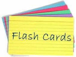 GCSE Biology Revision Flash Cards - Paper 2