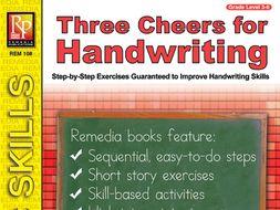 Three Cheers for Handwriting