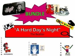 "BUNDLE: The Beatles, ""A Hard Day's Night"""