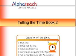 Five times table and telling the time