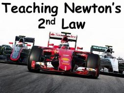 Teaching Newton's Second Law Using F1 Lesson Idea